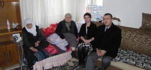 Şarköy Kaymakamından ev ziyaretleri