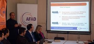 AFAD bilgilendirme toplantısı yapıldı