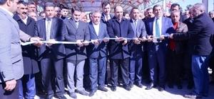 Ceylanpınar'da Semt Pazarı ve Spor Kompleksi törenle açıldı