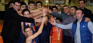 Basketbol'da namağlup şampiyon GKV