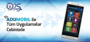 Android tabanlı resmi mobil uygulaması ADÜ'de hizmetine giriyor