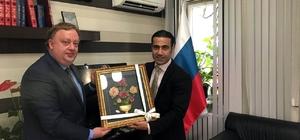 ALTAV'dan Rus Başkonsolosa Fuar daveti