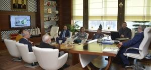Başkan Baran, Sarnıç Han projesini inceledi