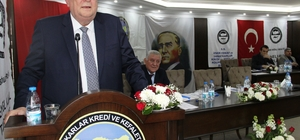 İzmir Esnaf ve Sanatkarlar Kredi Ve Kefalet Kooperatifleri Birliği'nin,  46.  olağan genel kurulu yapıldı