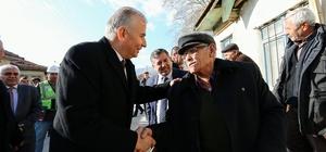 Başkan Zolan, Çivril'de incelemelerde bulundu