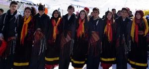 Bitlis'te kayak ve atletizm yarışmaları yapıldı