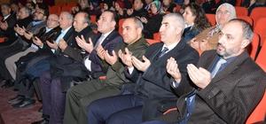 Aksaray Belediyesi Sarıkamış Şehitlerini andı