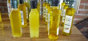 Gömeçli zeytinci organik zeytinyağı üretti