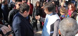 Aydın'da Eğitim-Sen eylemine polis müdahalesi