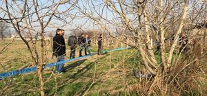 Bursa'da tarlada erkek cesedi bulundu