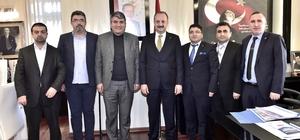 Mamaklı mali müşavirlerden Akgül'e ziyaret