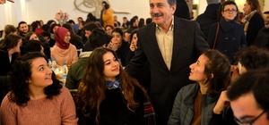 Başkan Ataç 600 gençle bir araya geldi