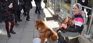 Romanyalı kız kardeşlerin müziklerinden çok köpekleri Beks ilgi görüyor