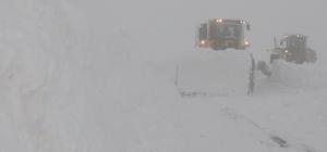 Hakkari karla mücadele çalışması