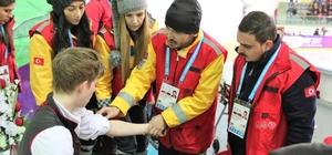 EYOF'ta, 13 ilden toplam 269 sağlık personeli görev aldı