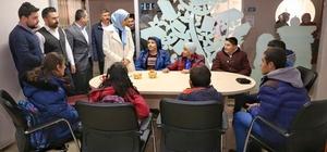 Milletvekili Taşkesenlioğlu, Yakutiye Gençlik Merkezi'nde ki çocukları ziyaret etti