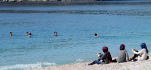 Fethiye'de sıcak hava