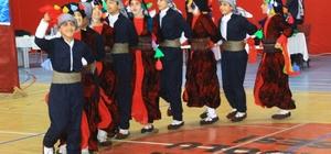 Hakkari'de halk oyunları yarışması