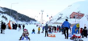 EYOF yarışları bitti kayak keyfi başladı