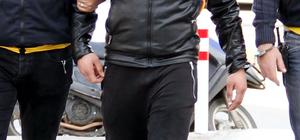 Antalya'da hırsızlık zanlısına tutuklama