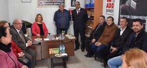 Başkan Albayrak, Şarköy ADD Şubesi'ni ziyaret etti
