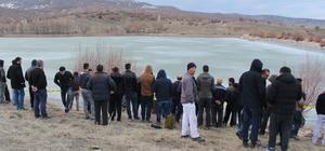 GÜNCELLEME- Buz tutan gölete düşen çocuk boğuldu