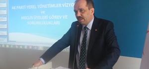 AK Parti Milletvekili Balta Rize ve Bayburt'ta yeni anayasa değişikliğini anlattı