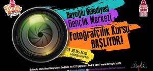 Beyoğlu'nda fotoğrafçılık atölyesi için kayıtlar başladı