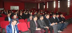 Silopi'de okul müdürlerine seminer verildi