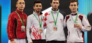 Darıcalı karateciler Avrupa Şampiyonası'nda kürsüden inmedi
