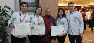 Harran Üniversitesi aşçıları yeni bir ödül aldı
