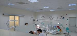 BEÜ'de çocuk hastalara sedasyonla diş tedavisi