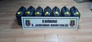 Edirne'de eroin yapımında kullanılan asit ele geçirildi