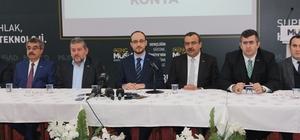 MÜSİAD Konya Şube Başkanı Ömer Faruk Okka: