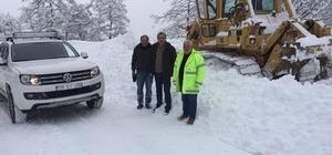 Giresun'da karla mücadele