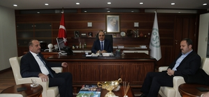Başkan Duruay'dan DSİ 5. Bölge Müdürlüğüne ziyaret