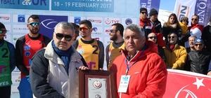 Türkiye, 'kar voleybolu' ile ilk kez Erciyes'te tanıştı