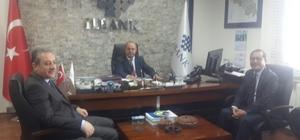 Başkan Bayramoğlu'ndan Müdür Çelebi'ye ziyaret