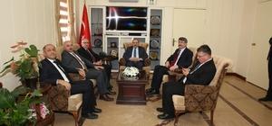 Müsteşar Yardımcısı Yıldırımhan, Vali Ustaoğlu'nu ziyaret etti