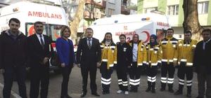 Alaşehir'de 112 Acil Servis İstasyonu açıldı