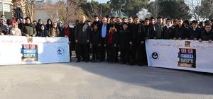 Pamukkale Belediyesi'nden Osmanlıca Kursu'na katılan gençlere destek