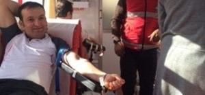 Doubletree By Hilton Van Oteli çalışanlarından kan bağışı