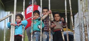 Türk Kızılayı Suriyelilere sahip çıktı