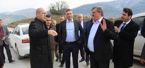 Milletvekili Çaturoğlu, Ereğli-Devrek yolunu inceledi