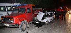 Adana'da trafik kazası: 3 yaralı