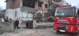 Manisa'daki yangında bir bebek hayatını kaybetti