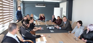 Kayın Mantarı üreticileri ile toplantı