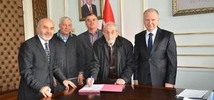 Cami yapımına ilişkin protokol imzalandı