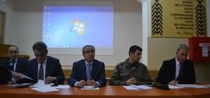 Okul Servis Şoförleri bilgilendirme toplantısı