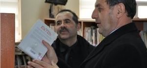 Başkan Süleyman Özkan, Halk Kütüphanesi inceledi
